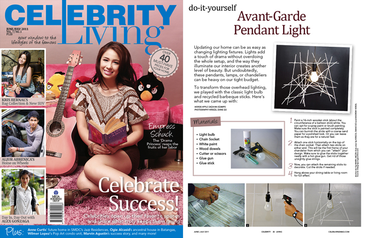 Celebrity Living June-July 2011