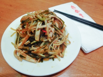 Oriental Salad in Special Vinegar Dressing