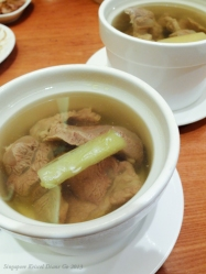 Steamed Pork Rib Soup